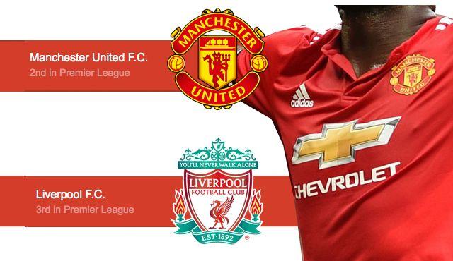 Висшата лига на Англия - Манчестър Юнайтед и Ливърпул