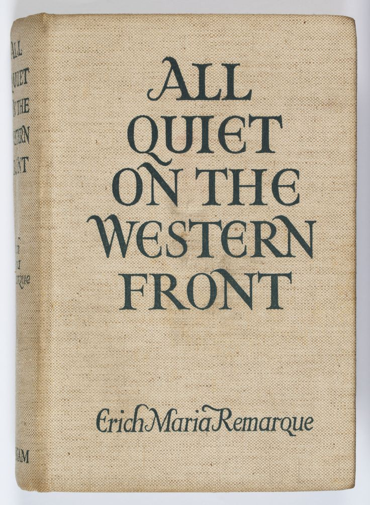 the theme of war in all quiet on the western front by erich maria remarque and the wars by timothy f All quiet on the western front is a television film produced by itc entertainment, released on november 14, 1979, starring richard thomas as paul bäumer, and ernest borgnine as katczinsky it is based on the book of the same name by erich maria remarque the 1979 film was directed by delbert mann.