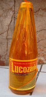 Lucozade - by hospital beds everywhere in the 70's.