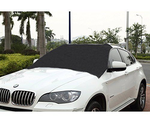 Vehicle Windshield Cover Annual Fit Windproof Ice Snow Sun Protect Magnetic Edge #Cutequeen