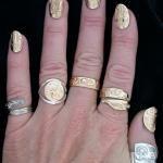 Leanne Helin Tsimshian Native Jewellery Artist.  Vancouver Island BC