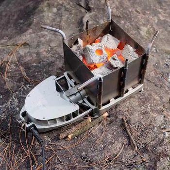 Nova Venda Quente Ao Ar Livre Camping Piquenique Fogão A Lenha DAS-116 Portátil Dobrável Carvão PARA CHURRASCO Churrasqueira Forno a Lenha