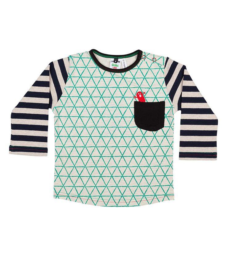 Kit L/S Pocket T Shirt, Oishi-m Clothing for kids, Autumn 2016, www.oishi-m.com