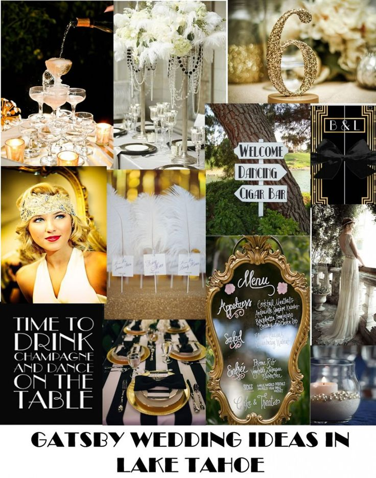 Gatsby Weddings are the Hot Trend in 2015!   Gatsby is all about glitz, glam and grandeur and an easy theme to use for your Lake Tahoe wedding, especially when you choose a venue that can easily be transformed into West Egg on Long Island in 1922.  http://lakefrontwedding.com/hot-lake-tahoe-wedding-theme-2015-gatsby/