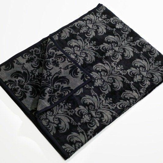 Koc Glamour czarny, 150x200 cm