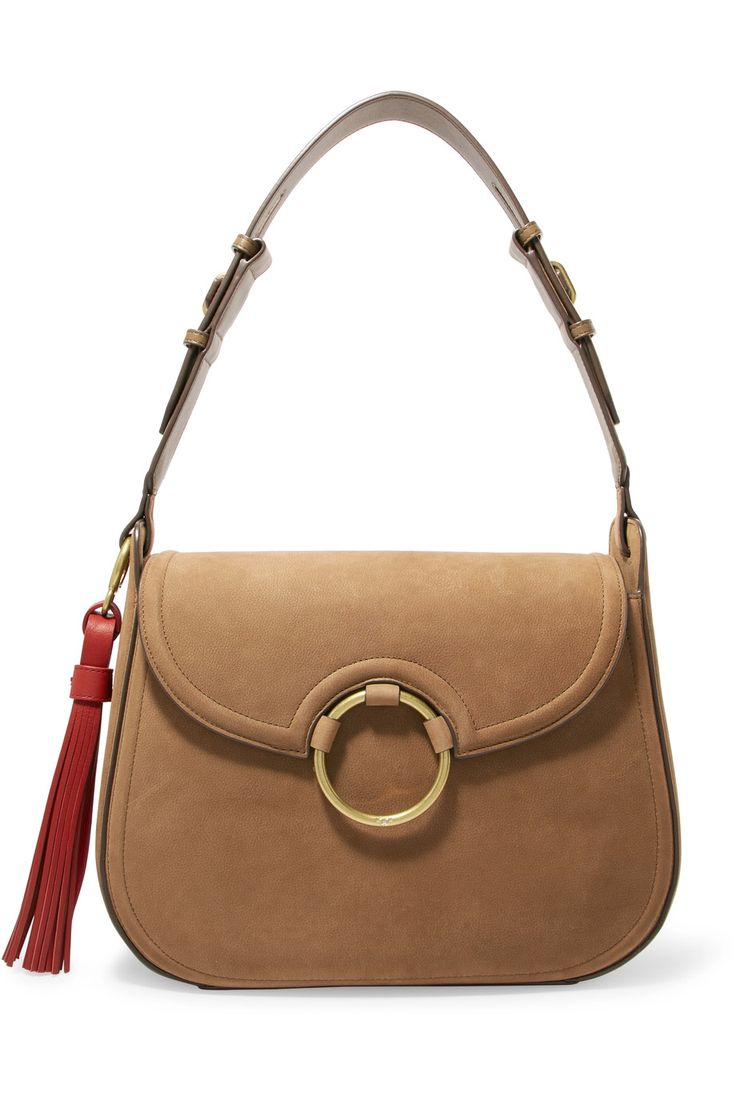 Shop on-sale Tory Burch Tasseled leather shoulder bag. Browse other discount designer Shoulder Bags & more on The Most Fashionable Fashion Outlet, THE OUTNET.COM