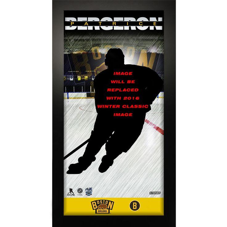 Boston Bruins 2016 NHL Winter Classic Patrice Bergeron 10x20 Player Profile