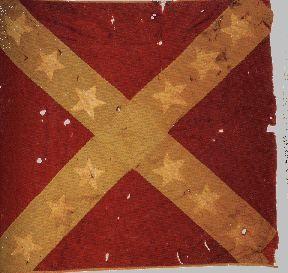 virginia battle flags | Battle Flag of the 18th Georgia Regiment of Volunteer Infantry