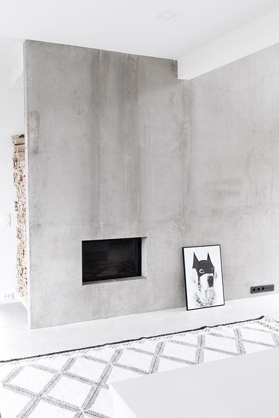 + #fireplace | Scandinavian minimalism by Musta Ovi