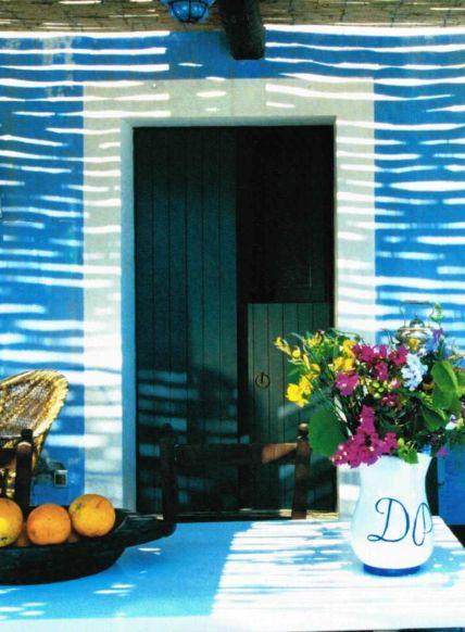 sun reflex on a dammuso house in Pantelleria (Sicily)- italy