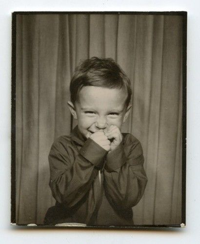 +~ Vintage Photo Booth Picture ~+  This little guy just made my day!