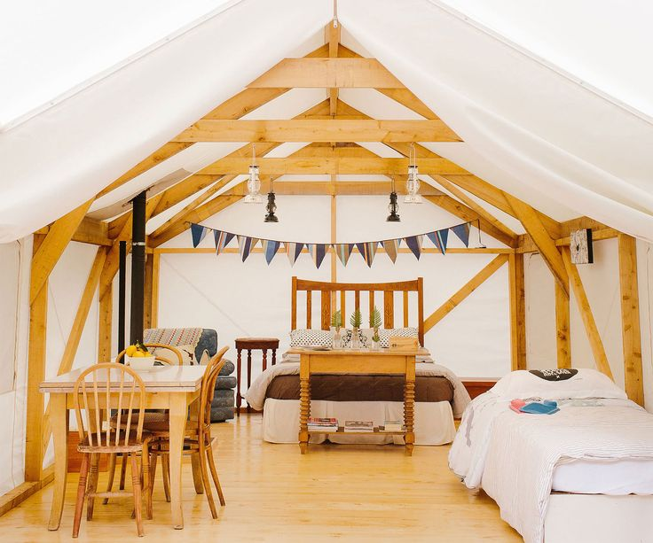 Baches for your budget: Glamping