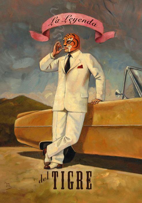 Let's wrestle baby. La leyenda del tigre!   #luchalibre #mexico #eltigre