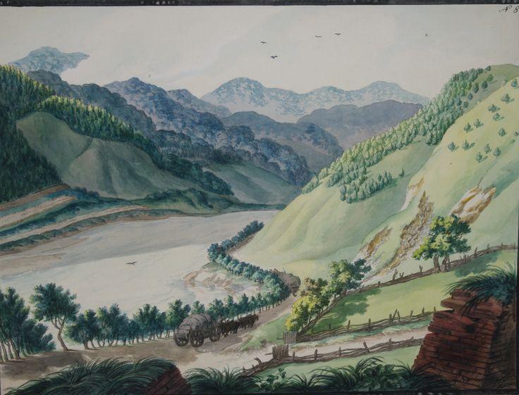 Franz Neuhauser the Younger - Valea Oltului la Turnu Roşu