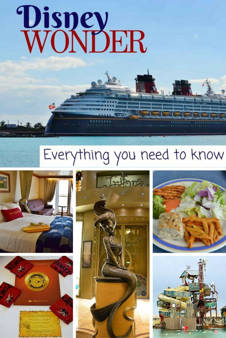 Everything You Need to Know about the Disney Wonder Cruise Ship