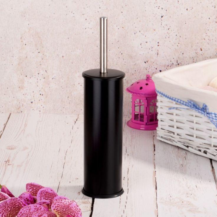 Metal Siyah Tuvalet Fırçası #banyo