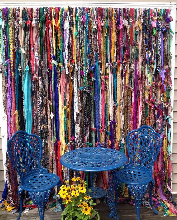 25 B Sta Hippie Curtains Id Erna P Pinterest Scarf