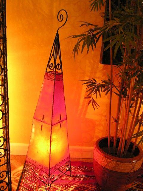 Henna floor lamp in red. http://www.maroque.co.uk/showitem.aspx?id=ENT06162&s=20-30-185