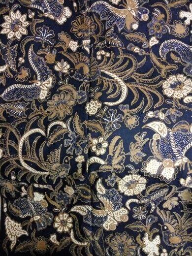 Batik sogan solo 1950
