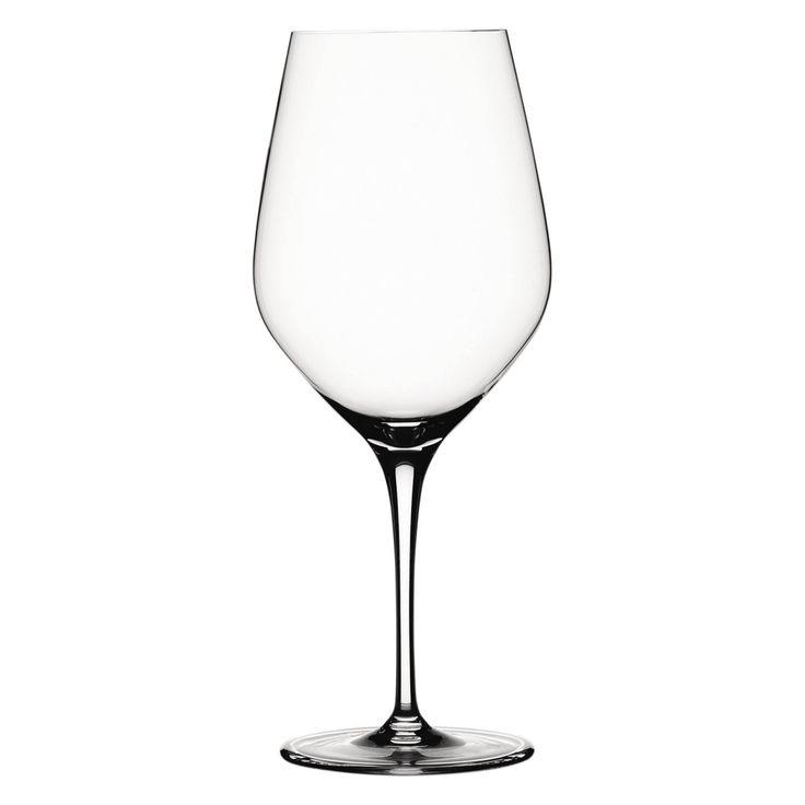 Spiegelau Authentis Bordeaux Glass - Set of 4 - 4400177