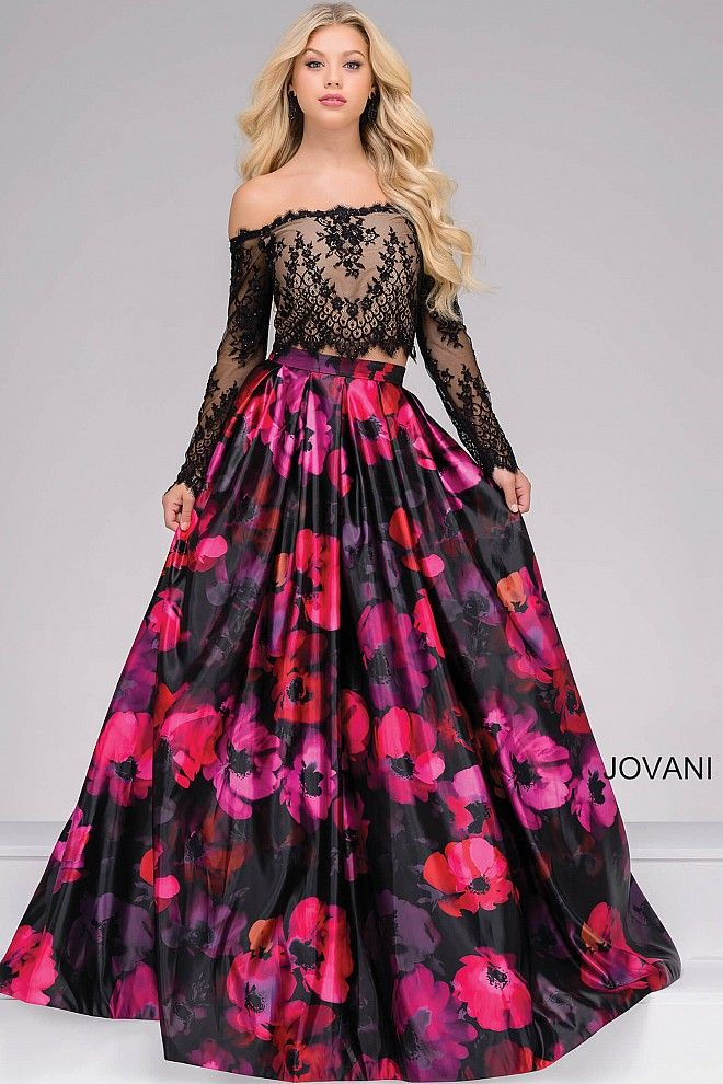 Stand out in a vibrant print #JOVANI #48690