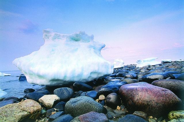 Iceberg in Churchill, Manitoba