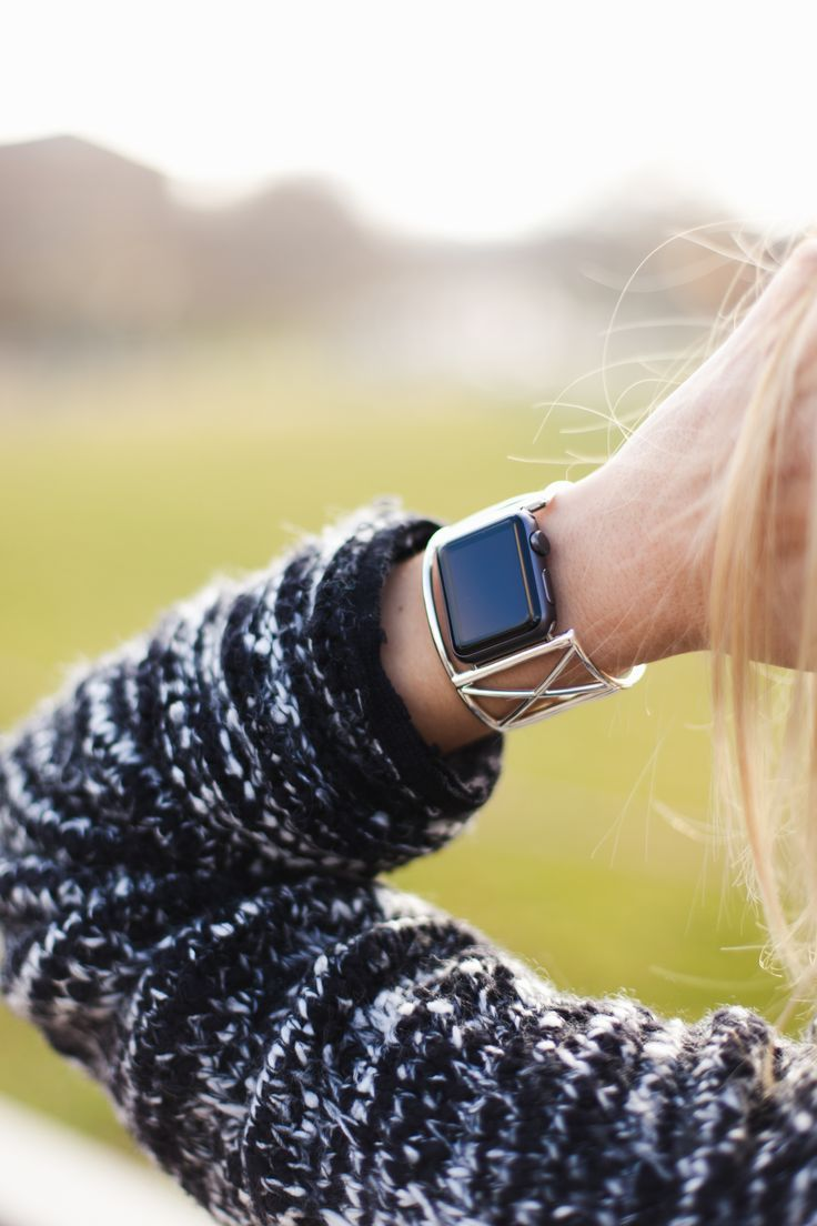 The Ultimate Cuff - takes your Apple Watch to the next level and complements your personal style