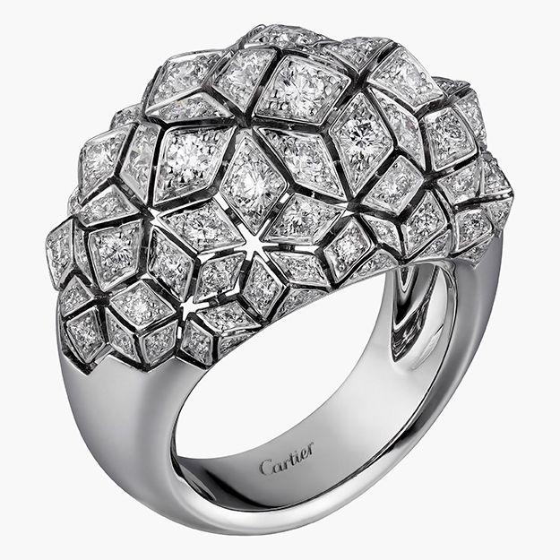 Объект желания: архитектурные кольца Coup d'Éclat de Cartier