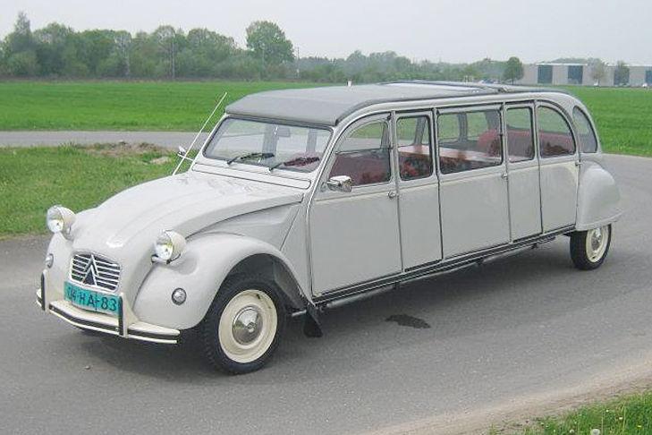 Citroen 2CV limousine  http://www.pinterest.com/adisavoiaditrev/boards/