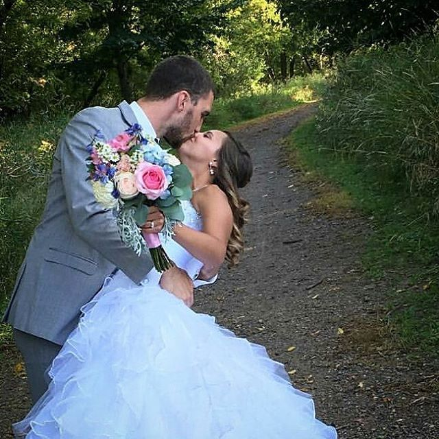 """Congratulations to our most recent wedding couple, Kelsey and Dan! We loved the refreshing color mixture of roses, delphinium, alstroemeria and much more!  Thank you for sharing your lovely pictures with us, @kelsey_nason ! . . . #mnwedding #minnesotawedding #minnesotaflorist #weddingflowers #delphinium #roses #wedding #mnflorist #mnweddingflorist #alstroemeria #flowers"" by @celebratewithflowersmn. #bridalstyle #weddingfashion #weddingdream #weddingidea #bridalinspiration #bridalinspo…"