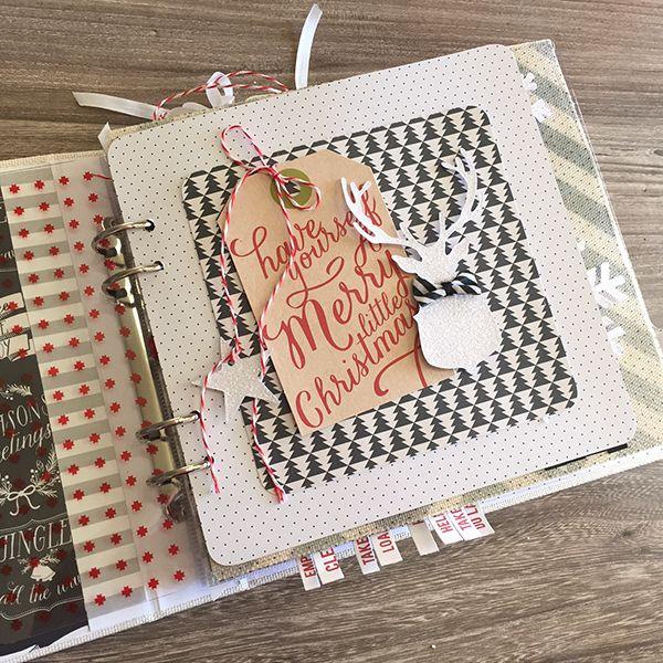 Dec 2014 Heidi Swapp Pink Paislee Merry & Bright - Countdown to Christmas DD mini album
