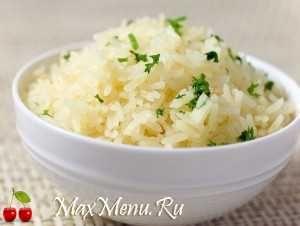 Как и сколько варить рис