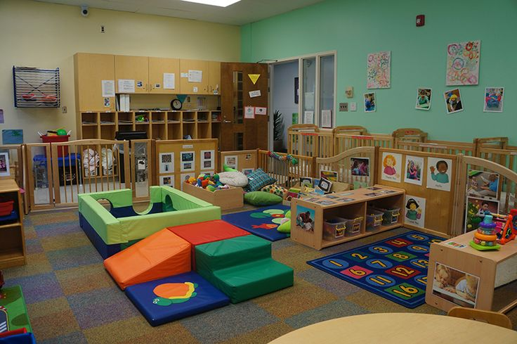 Toddler Classroom Arrangement | Nancy W. Darden Child Development Center