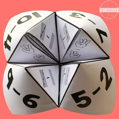 Cootie Catchers to Consolidate Math Skills Kids really enjoy using Cootie…