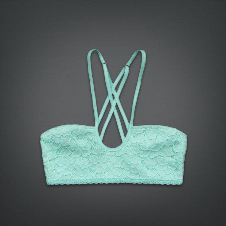 £14.40 Shop All Lace Crossback Bralette | Shop All Bras | uk.GillyHicks.com