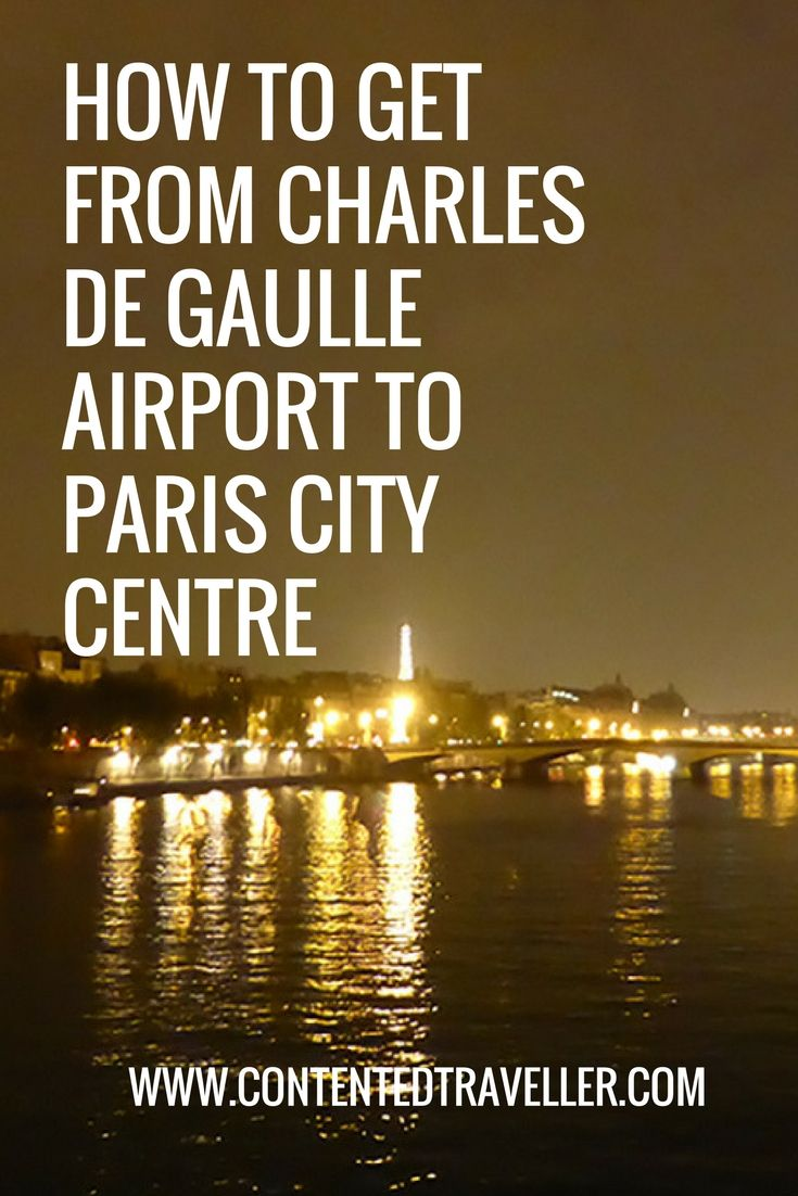 How to get from Charles de Gaulle Airport to Paris City Centre | Paris city,  Paris airport, Paris travel photography