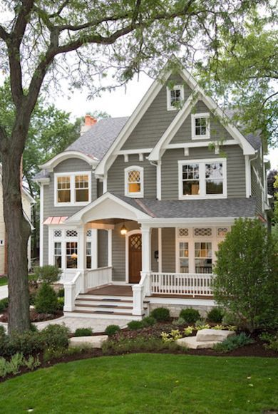 Best 698 Home Exteriors images on Pinterest   Architecture The Do s and Don ts of Choosing a New House Color  Traditional HomesTraditional  Home ExteriorsFront  . Home Exteriors. Home Design Ideas