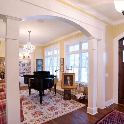 Living room wall arch pillar for the home pinterest - Pictures of columns in living room ...