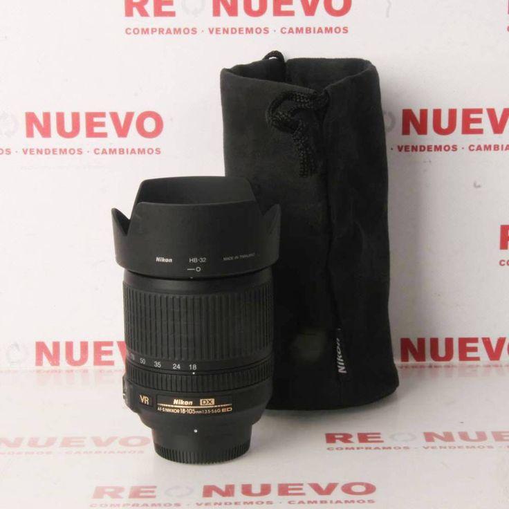 NIKKOR 18-105MM AF VT 3.5 ED G de segunda mano. E280280   Tienda online de segunda mano en Barcelona Re-Nuevo