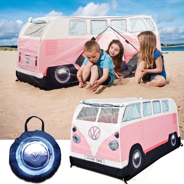 VW Camper Van Leketelt Rosa. Gratis frakt på www.multitrend.no