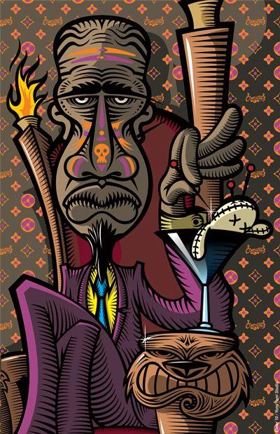 Voodoo  by Elmer Sosa