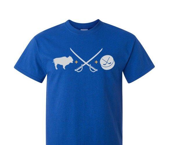 80 best buffalo sabres images on pinterest buffalo for Custom t shirts buffalo ny