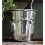 Snaffle Bit Equestrian Wine Bucket Wine Accessories - Wine Accessories - By Beatrice Ball Metalware #6804 at Horse and Hound Gallery