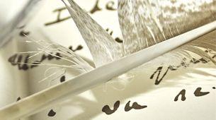 """L'alchimie  des prénoms / « Les lettres de l'alphabet sont des dessins, des schémas, rappelle l'alchimiste. Leur tracé est signifiant, il n'est pas le fruit du hasard. » Patrick Burensteinas / « Chaque lettre a une vertu. Certaines sont matérialistes, d'autres idéalistes, mentales, intuitives… La manière dont elles s'articulent donne des clés, parfois stupéfiantes, qui dévoilent la vie de la personne"""" Françoise Since."""