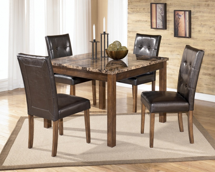Theo Faux Marble Top Conemporary Dining Set Find More At Home Furniture