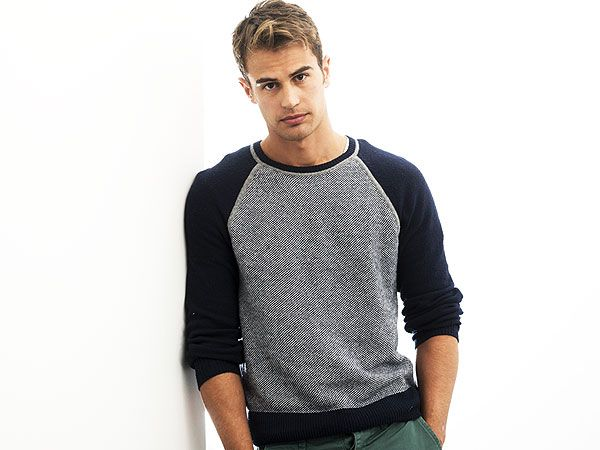 """Divergent: Theo James Plays Four """"4. He's got other skills.  Sadly we don't know this from personal experience, but according to Divergent costar Woodley, James is """"a great kisser."""" Oh, and """"he's an incredibly masculine man with a beautiful soulful heart,"""" too. What more could a girl want?"""""""