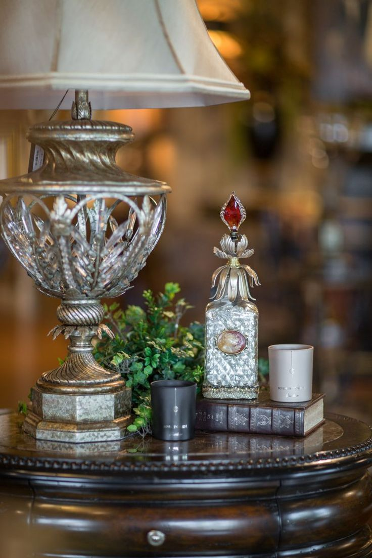 """.""""Excellent use of scale and shape change in accessorizing with home decor"""" designnashville"""