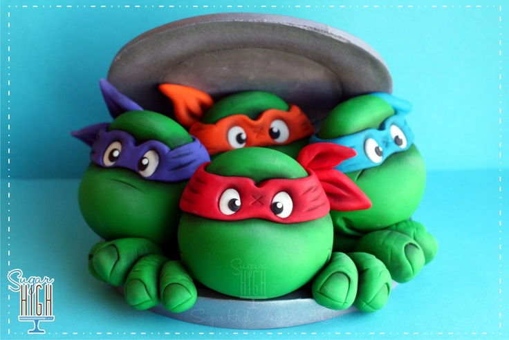 Credit to Sugar High Inc     Cutest little Ninja Turtle Cake topper out!!!    http://www.facebook.com/photo.php?fbid=509279835789525=a.384337958283714.101038.195005547216957=1=1