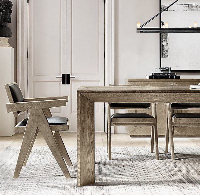 Jakob Fabric Armchair Modern Dining Room Dining Table Legs Dining Table