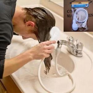 Douchette-Tuyau-pour-lavabo-pommeau-de-douche-adaptable-au-robinet-Salle-Bain-UK